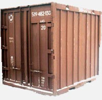 Container 5t: dimensions, tonnage and other parameters
