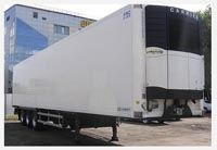 Semi trailer 86m3 Refrigerator Lamberet: dimensions, tonnage and other parameters