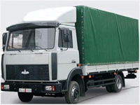 Lorry MAZ-437030-362: dimensions, tonnage and other parameters