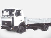 Lorry MAZ-437043-369, -329: dimensions, tonnage and other parameters