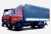 Lorry MAZ-533603-221: dimensions, tonnage and other parameters