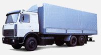 Lorry MAZ-630308-021: dimensions, tonnage and other parameters