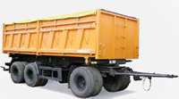 Dump trailer MAZ-856102-010: dimensions, tonnage and other parameters
