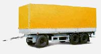 Trailer MAZ-8701: dimensions, tonnage and other parameters