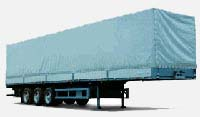 Semi trailer 82m3 MAZ-9758
