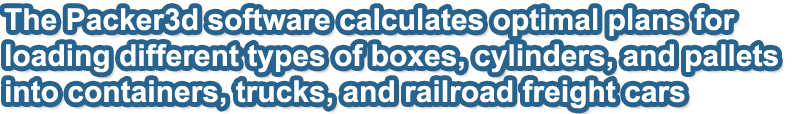 Palletizing Calculator | packer3d com